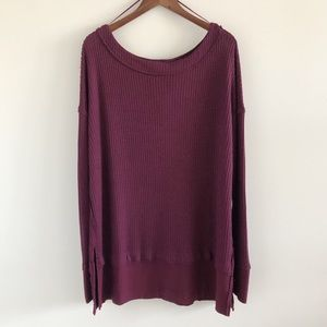 NWT Free People We The Free North Shore Thermal M